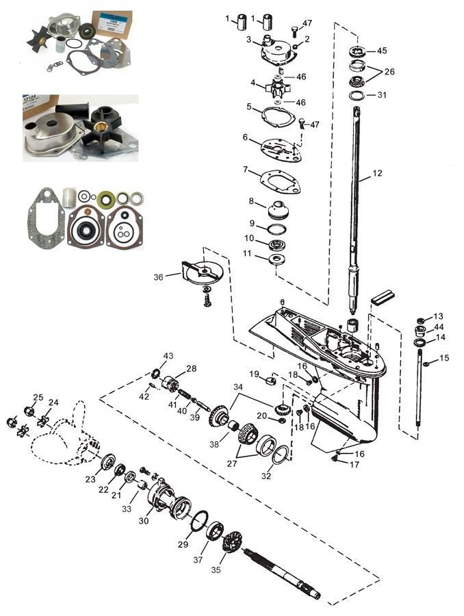 инструкция как разобрать лодочный мотор